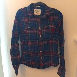 Abercrombie & Fitch Muscle button down